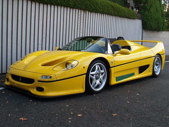 フェラーリ F50 ディーラー車