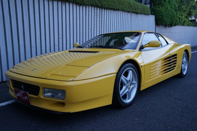 フェラーリ 512TR 記録簿有り