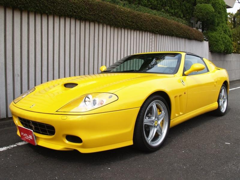 フェラーリ スーパーアメリカ ハンドリングGTCパッケージ ワンオーナー 正規輸入車20台