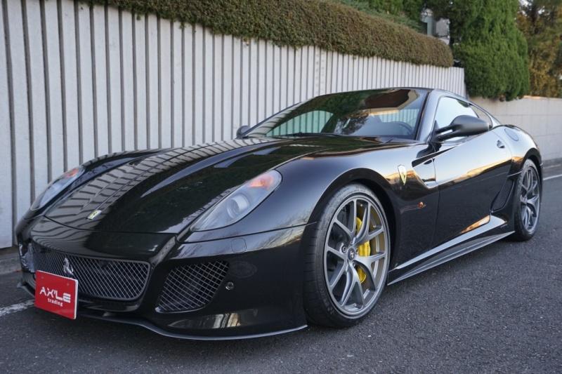 フェラーリ 599 GTO ディーラー車 ネロデイトナ